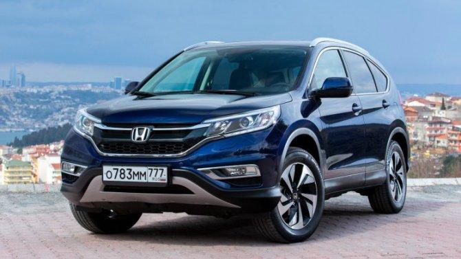 Известны рублёвые цены обновлённого кроссовера Honda CR-V