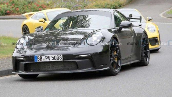 Завершаются испытания обновлённого Porsche 911 GT3