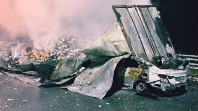 В ДТП в Тосненском районе погиб пассажир иномарки