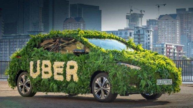Uber пересадит таксистов наэлектромобили