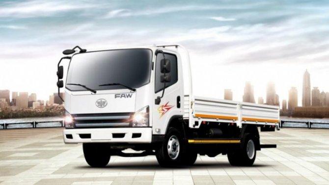 В России появился обновлённый грузовик FAW Tiger