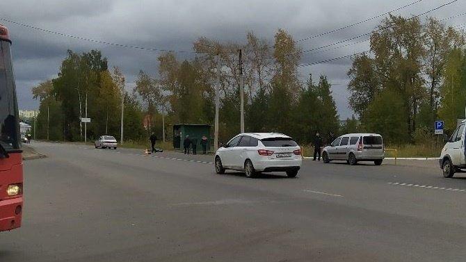 В Кирове ВАЗ насмерть сбил женщину