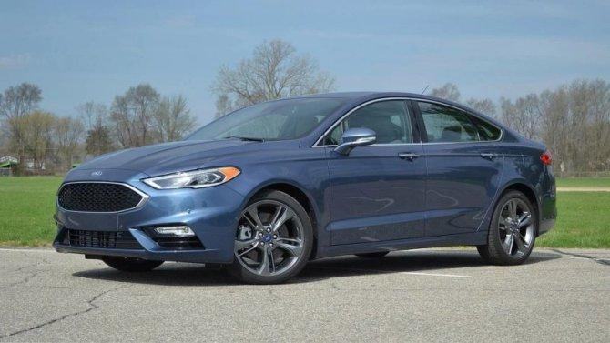 Ford Fusion «эмигрировал»
