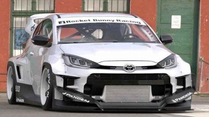 «Горячий» хэтчбек ToyotaGR Yaris стал гоночным болидом