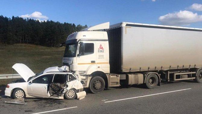 В ДТП с грузовиком в Аларском районе Иркутской области погиб человек