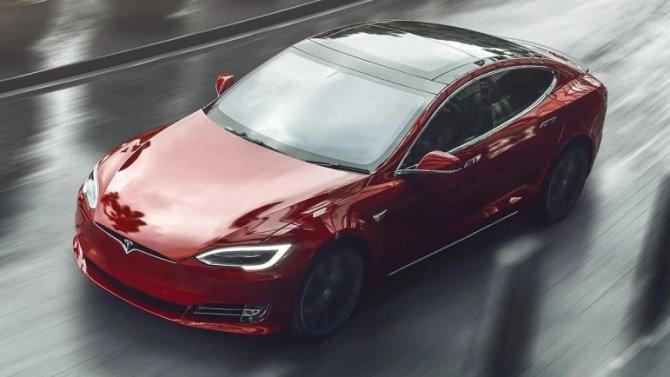 Появились данные о«заряженном» электромобиле Tesla Model S