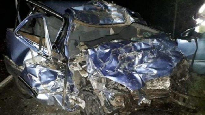 Молодой водитель погиб в ДТП с грузовиком в Башкирии