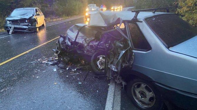 В ДТП под Златоустом погиб молодой водитель