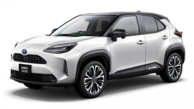 Начаты продажи кроссовера Toyota Yaris Cross