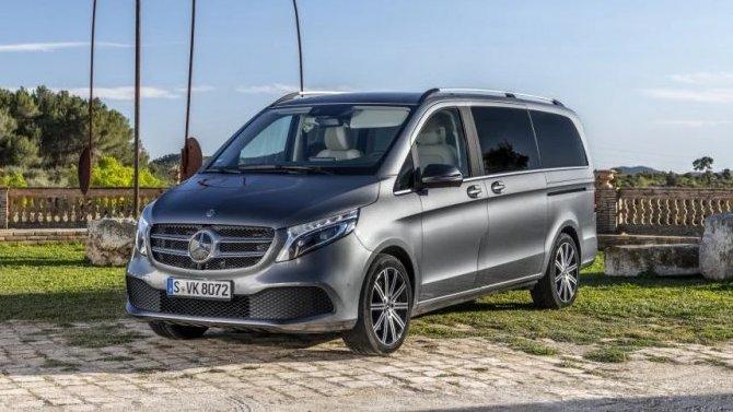 В России подорожал Mercedes-Benz V-Кlassе