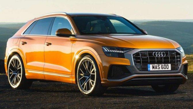 ВРоссии отзывают кроссоверы Audi