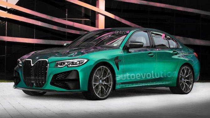 Рассекречена внешность нового BMW M3