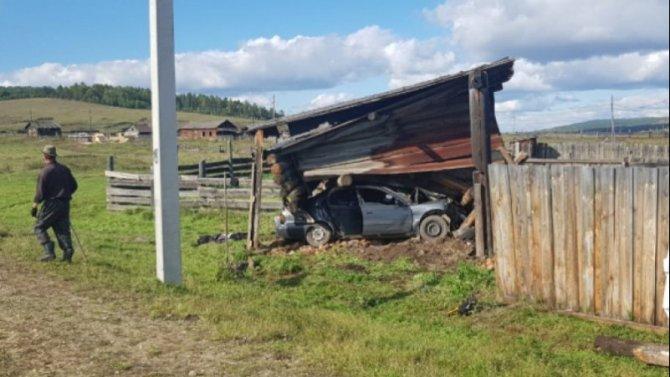 Подростки попали в смертельное ДТП в Ольхонском районе Иркутской области