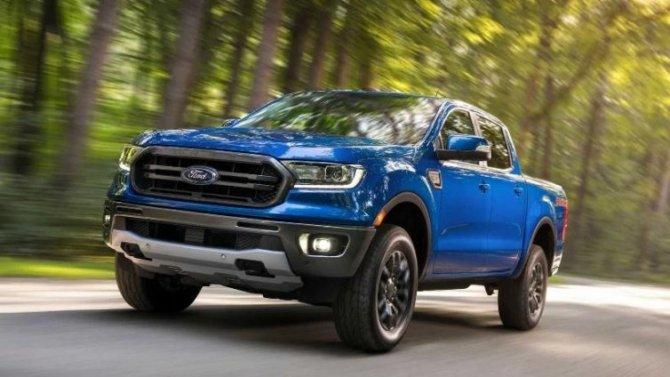 Пикап Ford Ranger обзавёлся новой спецверсией