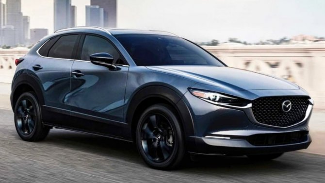 Mazda CX-30 получила новый двигатель