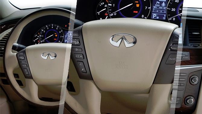 Подушки безопасности наInfiniti QX56 небезопасны для водителей