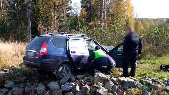 Мужчина и ребенок погибли в ДТП в Карелии