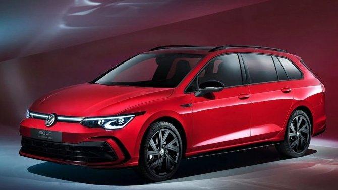Представлены обновлённые универсалы Volkswagen Golf