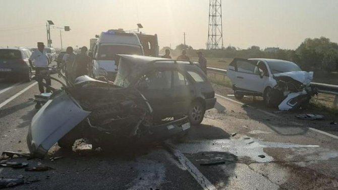 Водитель иномарки погиб в ДТП под Краснодаром
