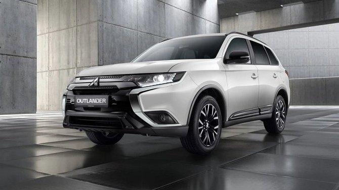 ВРоссии появилась новая спецверсия Mitsubishi Outlander