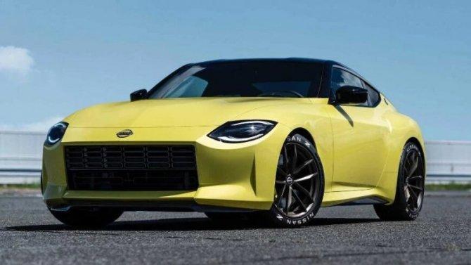 ВЯпонии представлен спортивный концепт-кар Nissan ZProto