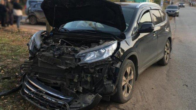 11-летний ребенок пострадал в ДТП в Воткинске
