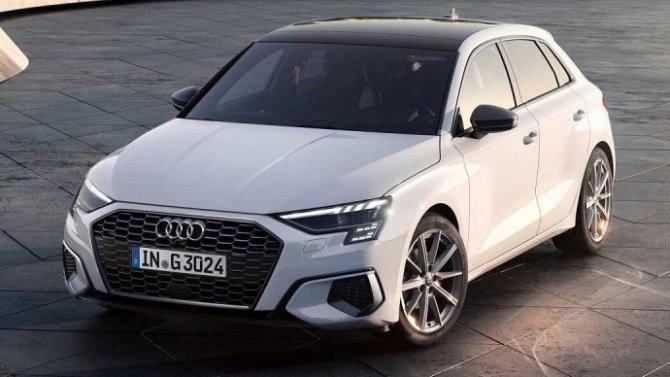 Audi A3 Sportback получил газобаллонную модификацию