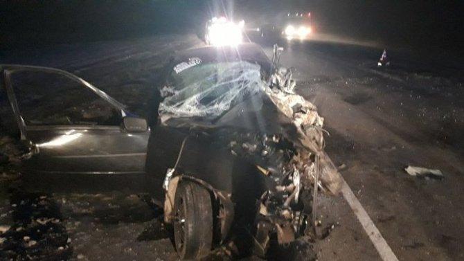 В ночном ДТП в Брянской области погибли два человека
