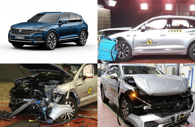 Volkswagen Touareg Euro NCAP