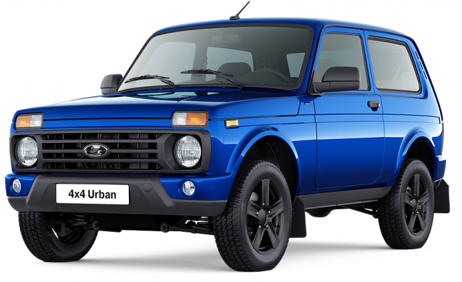 Lada 4x4 Urban Black 2