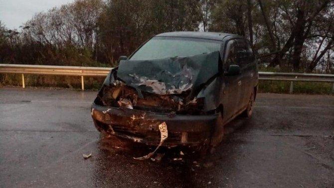 Мотоциклист без прав пострадал в ДТП в Тверской области