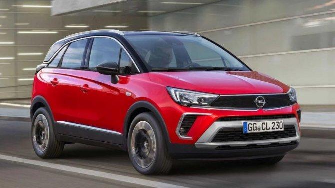 Представлен обновлённый Opel Crossland