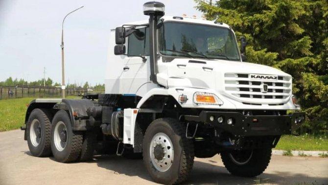 НаКамАЗе создан новый капотный грузовик