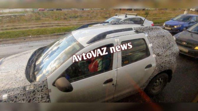 ВРоссии продолжаются испытания новых Renault Duster