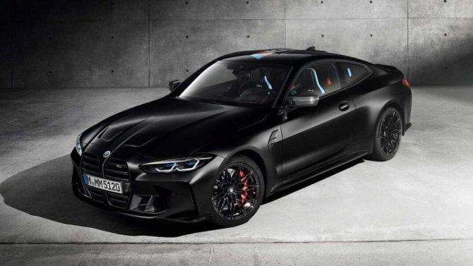 Купе BMW M4 Competition получило особое исполнение