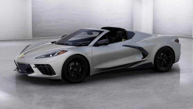 Составлен онлайн-конфигуратор для нового Chevrolet Corvette