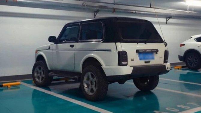 ВКитае замечена Lada 4×4