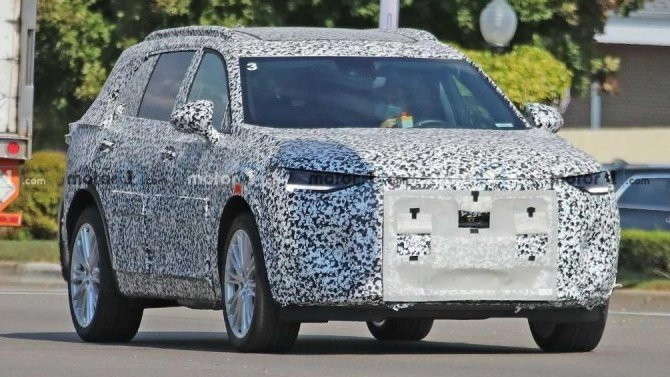Начались испытания нового кроссовера Buick EnvisionGX