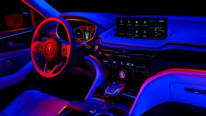 Появились подробности оновом кроссовере Acura MDX