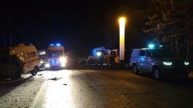 В ДТП со «скорой» под Читой погиб человек