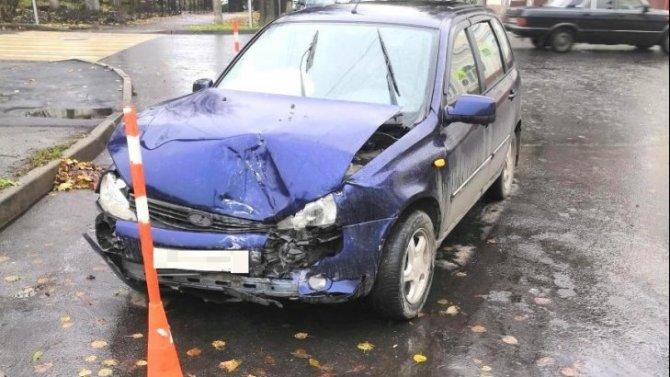 Двое детей пострадали в ДТП в Великом Новгороде