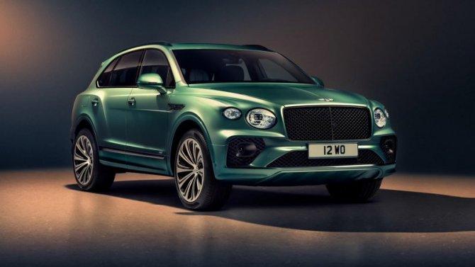 ВРоссии представлен обновлённый Bentley Bentayga