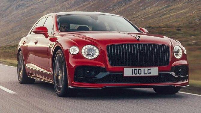 Bentley Flying Spur получил мотор V8