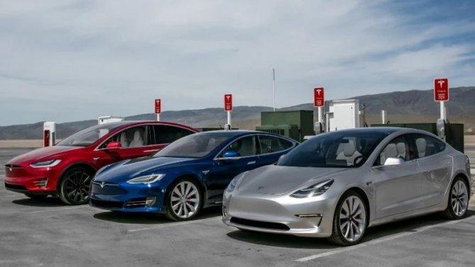 Электромобили Tesla будут продаваться вИндии
