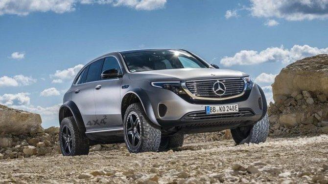 Mercedes-Benz EQC стал внедорожником