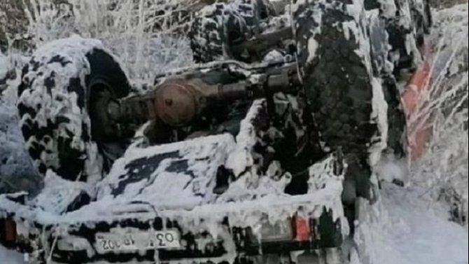 Водитель автоцистерны погиб в ДТП в Башкирии