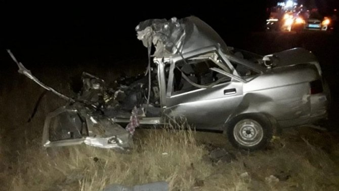 В ДТП с КамАЗом в Башкирии погиб молодой водитель без прав