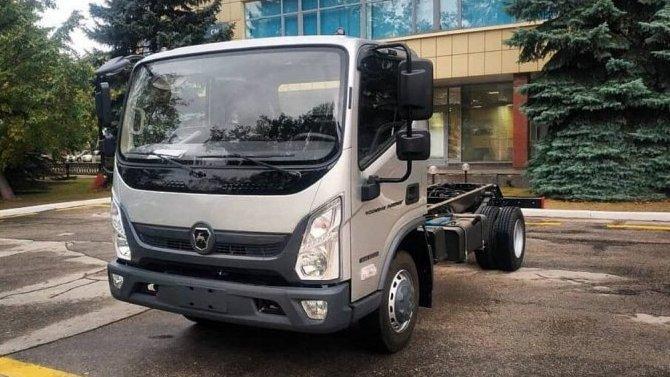 Опубликованы фотографии грузовика «ГАЗ Валдай Next»