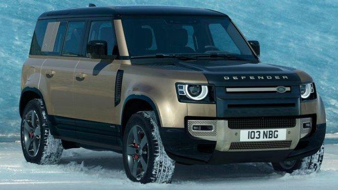 ВСША испытывается дизельный Land Rover Defender