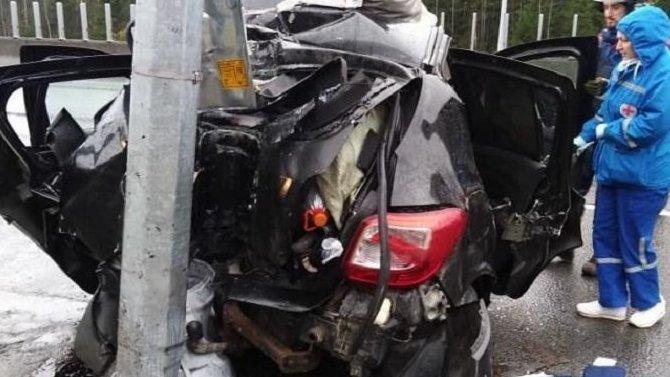 Пожилой водитель погиб в ДТП в Тосненском районе